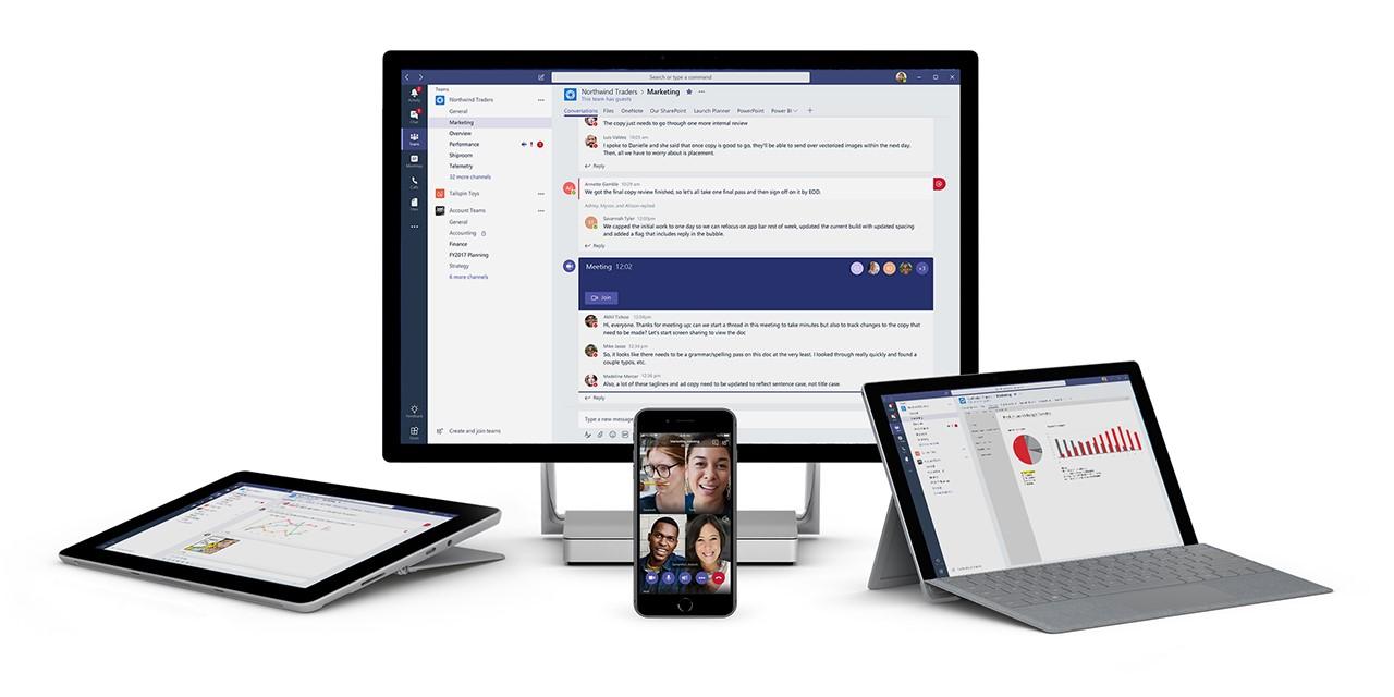 Teams è l'area di lavoro condivisa di Office 365 per collaborare, comunicare ed eseguire attività.